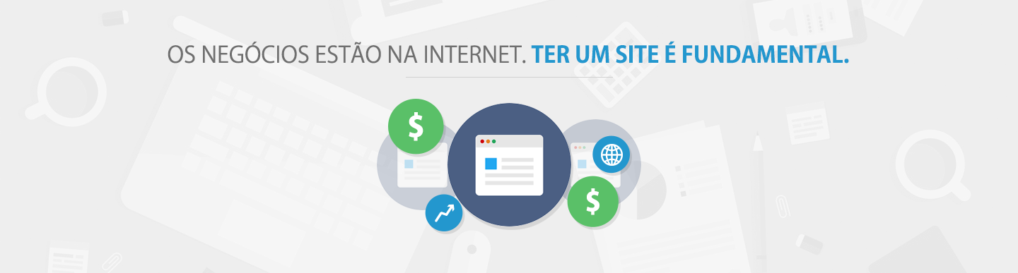 Ter um site é fundamental